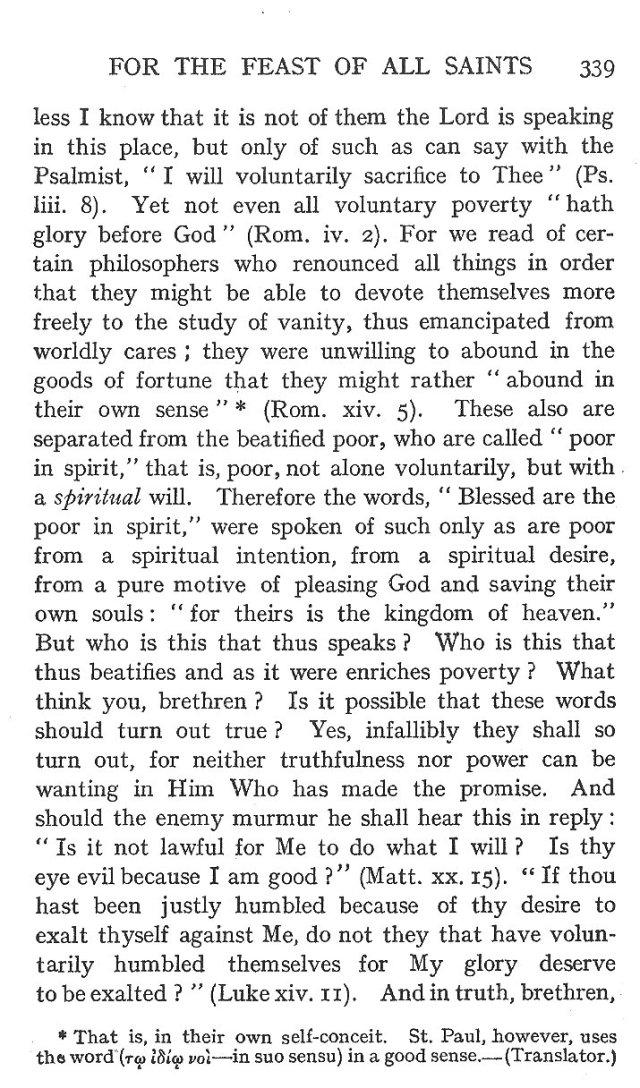 On the Eight Beatitudes 10