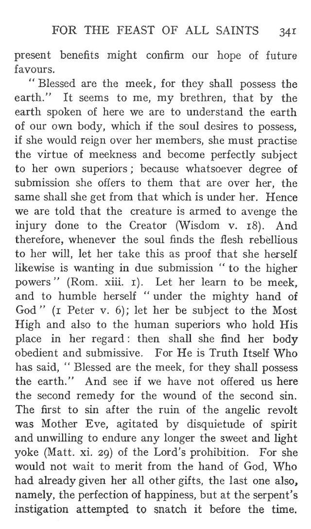 On the Eight Beatitudes 12