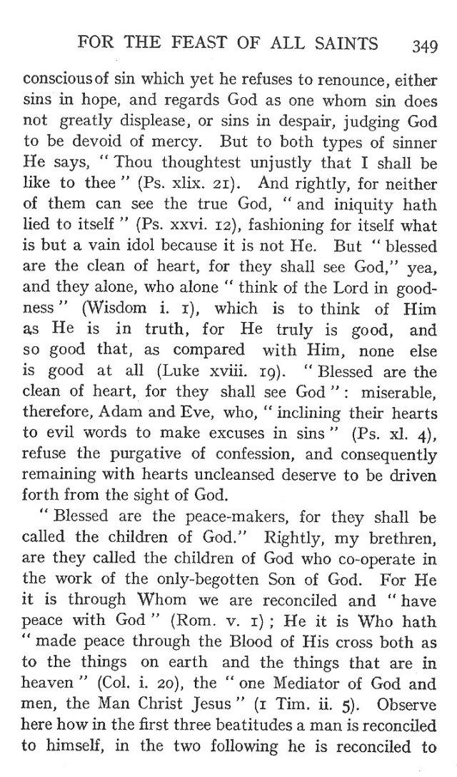 On the Eight Beatitudes 20