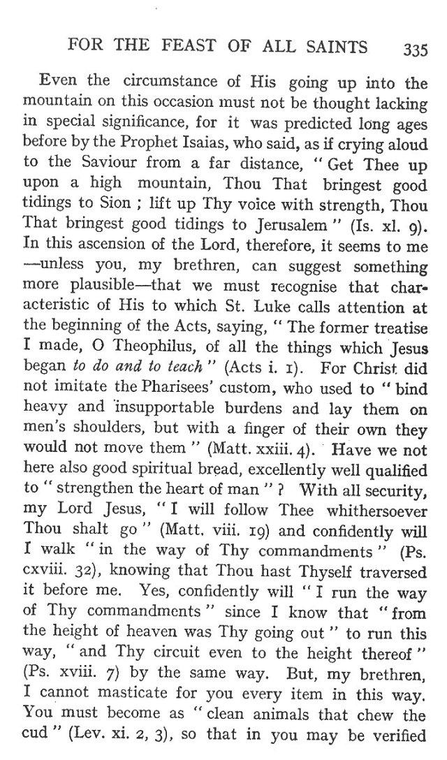 On the Eight Beatitudes 6
