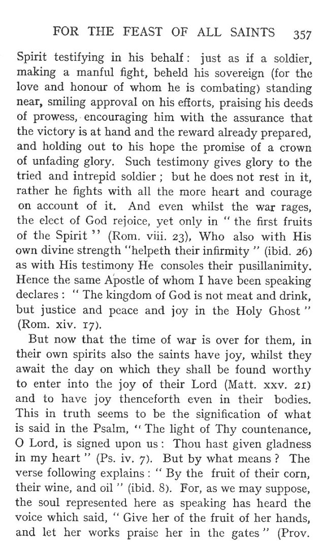 On the State of the Saints before the General Resurrection 5