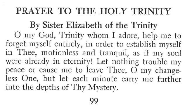 Prayer to the Holy Trinity 1