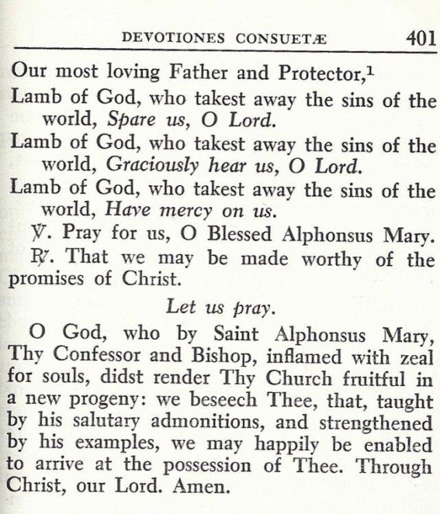 Prayers to St. Alphonsus 5