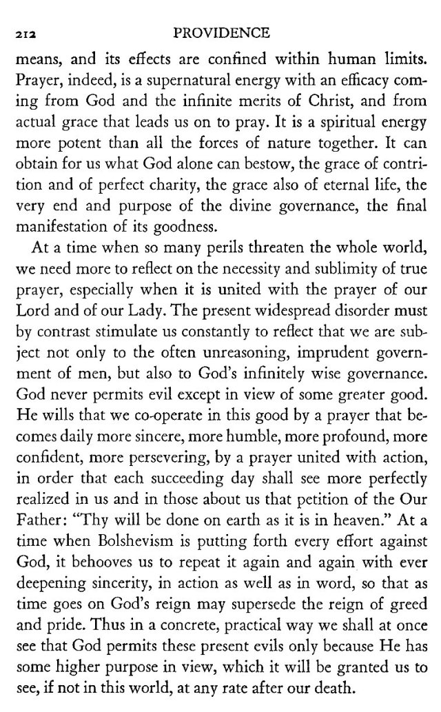 Providence and Prayer 9