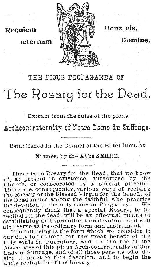 Rosary for the Dead 1
