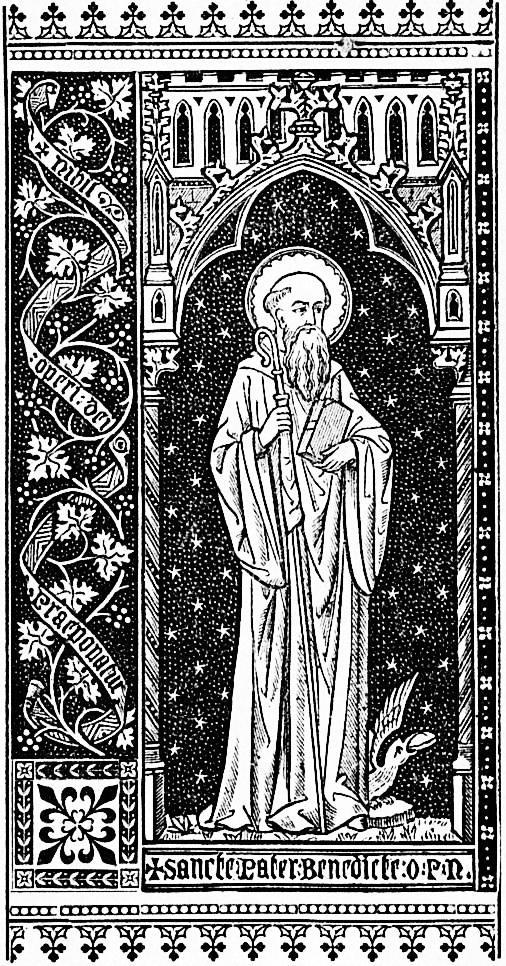 Sancte Pater Benedicte