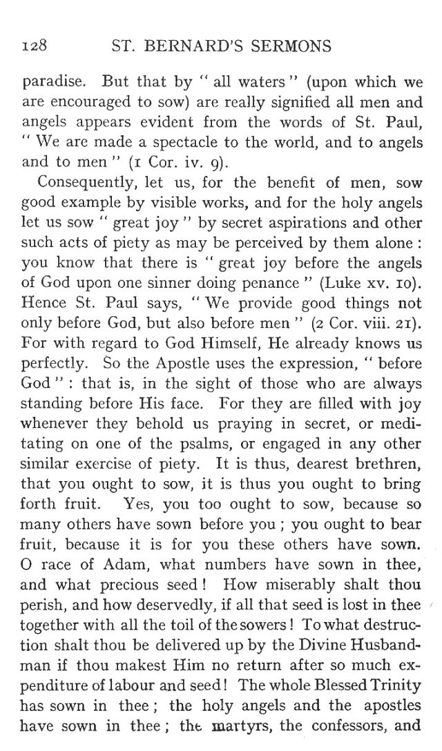 Sermon for the Feast of St. Benedict 11