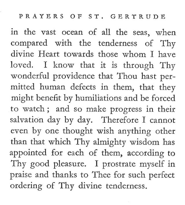 St. Gertrude's Prayer for Special Friends 2