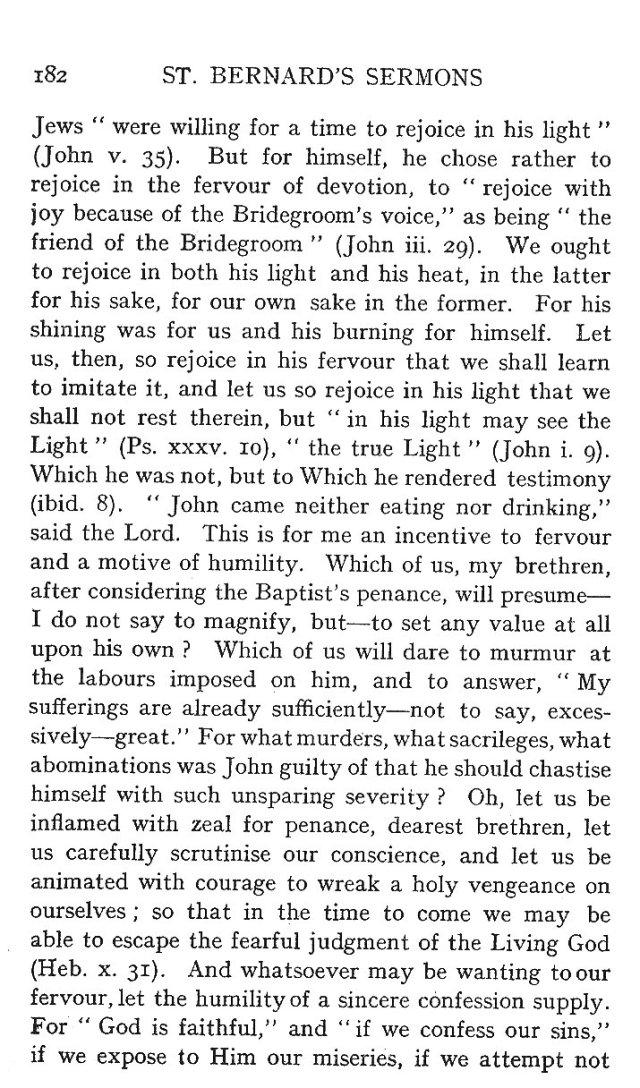 St. John Sermon 10