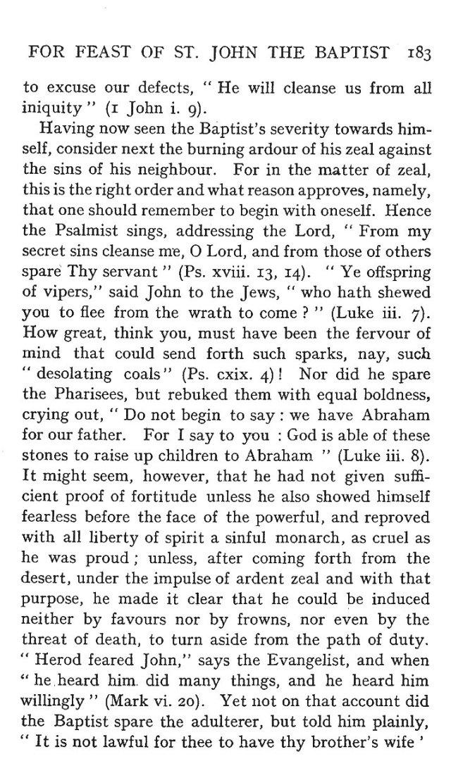 St. John Sermon 11