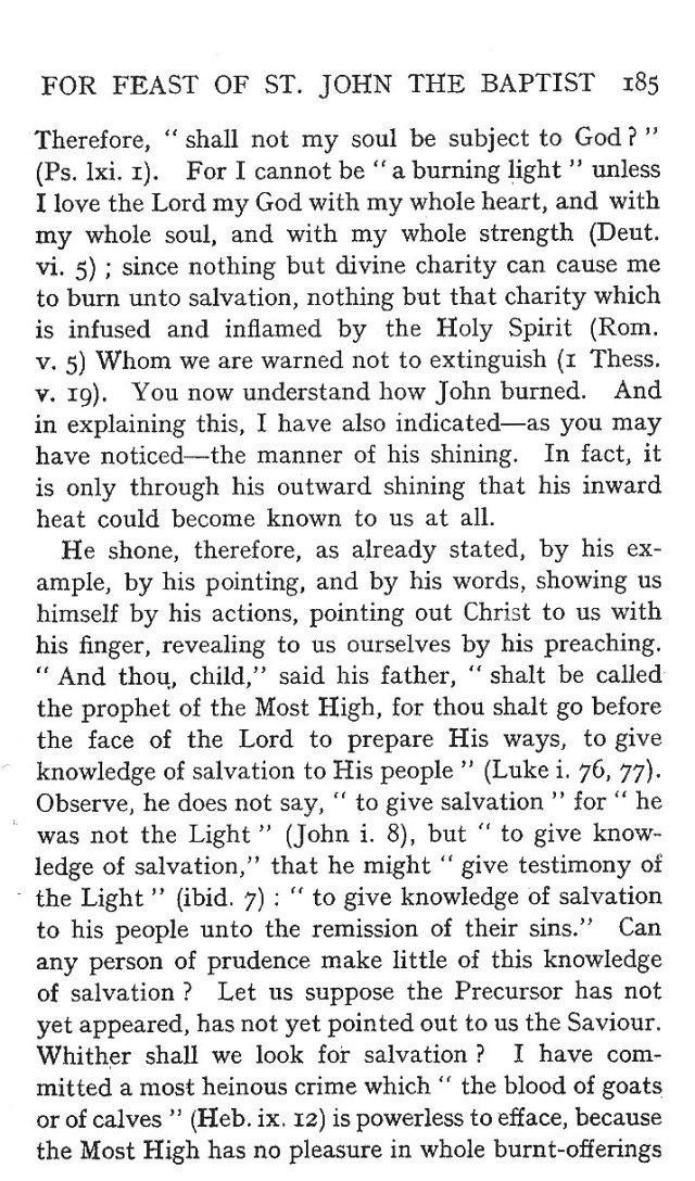 St. John Sermon 13