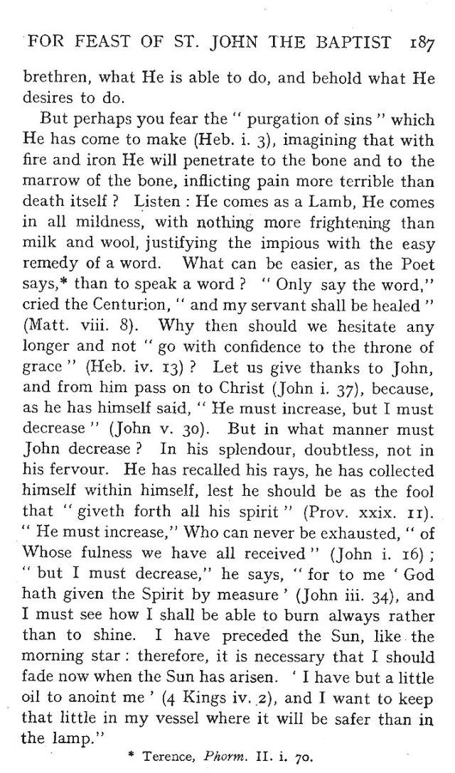 St. John Sermon 15