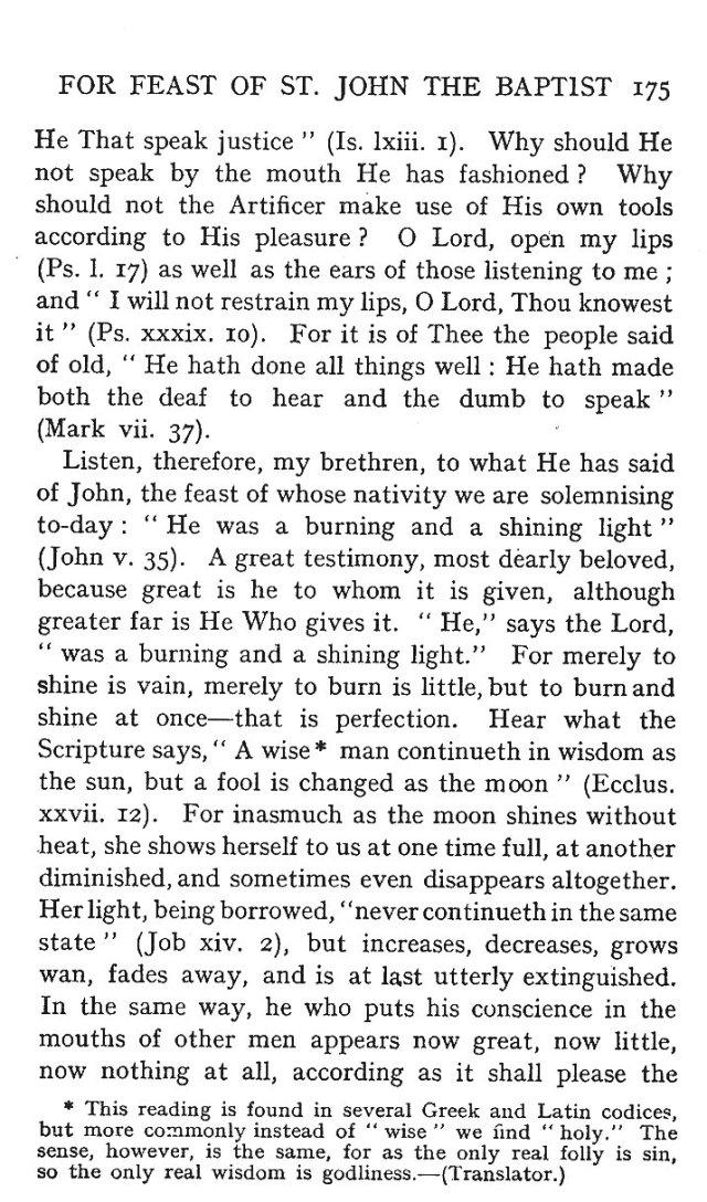 St. John Sermon 3