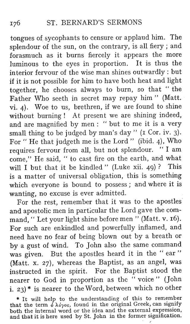 St. John Sermon 4