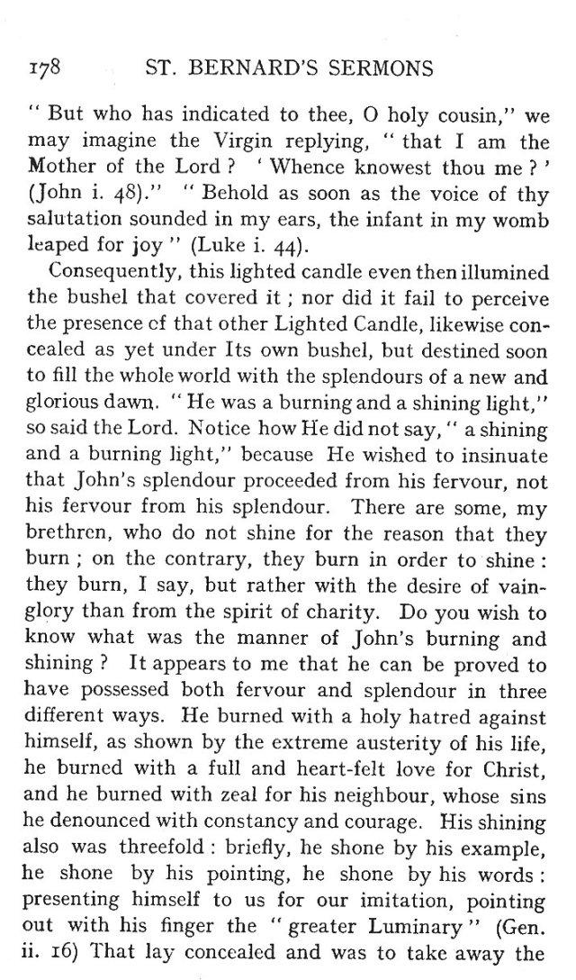 St. John Sermon 6
