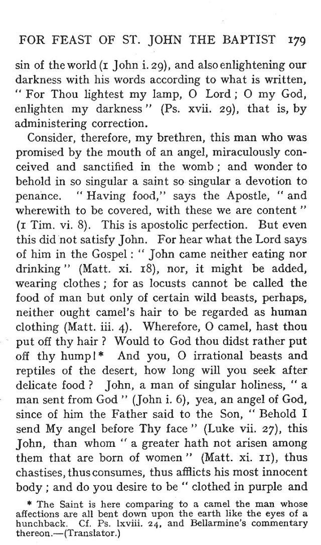 St. John Sermon 7