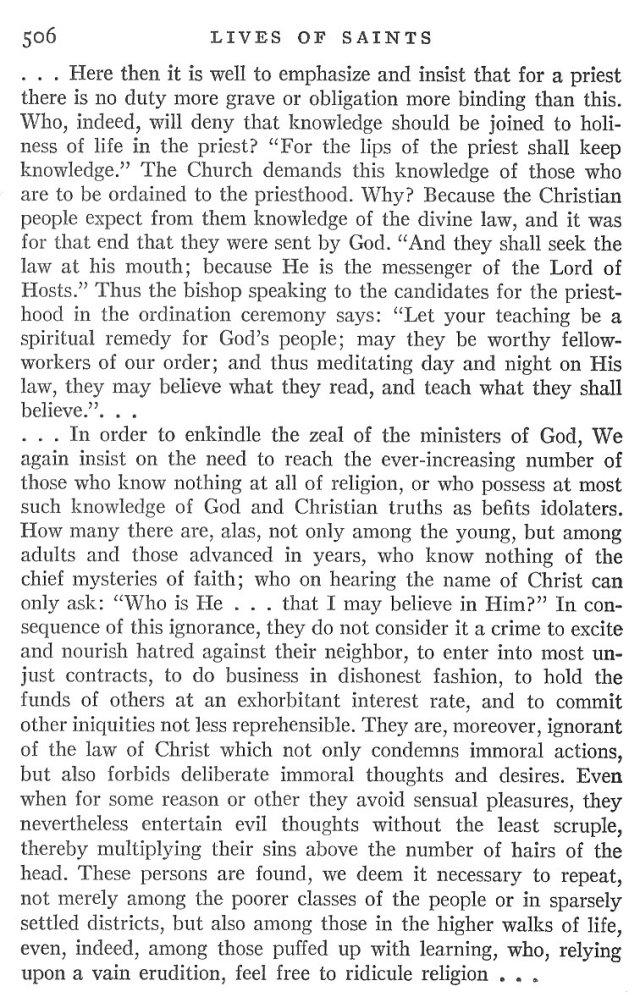 St. Pius X Life 10