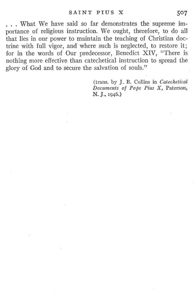 St. Pius X Life 11
