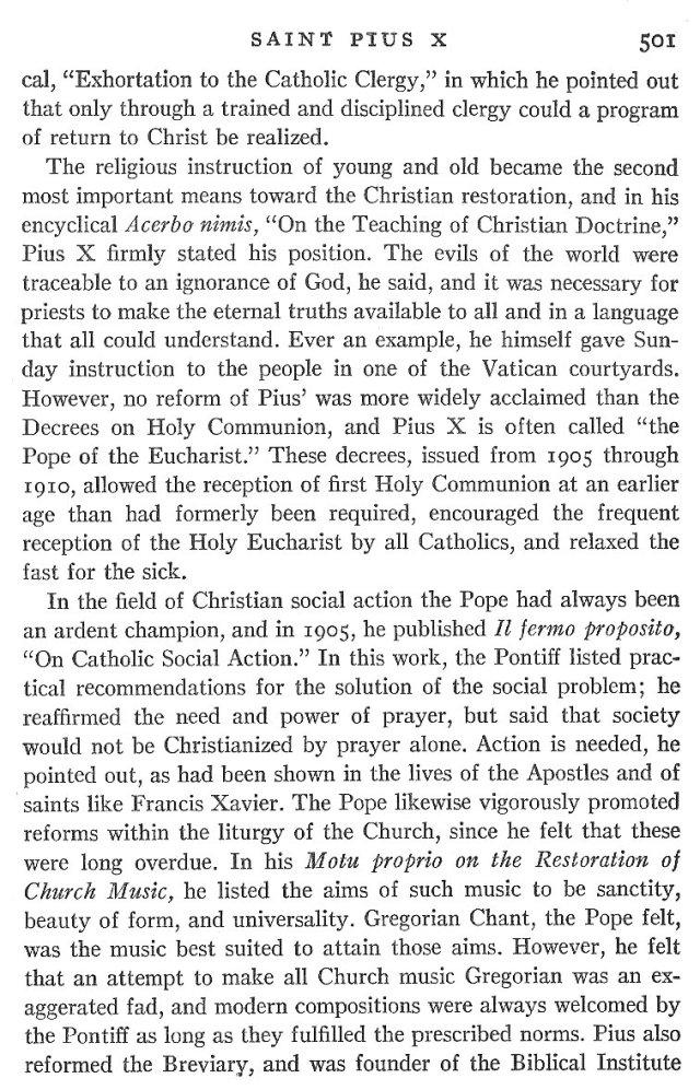 St. Pius X Life 5
