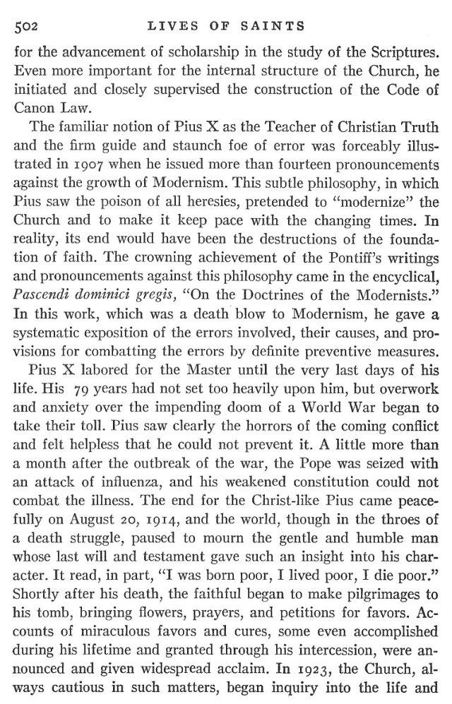 St. Pius X Life 6