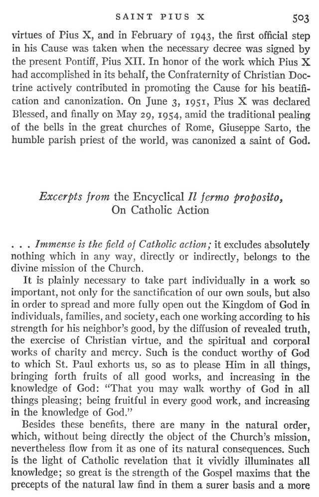 St. Pius X Life 7