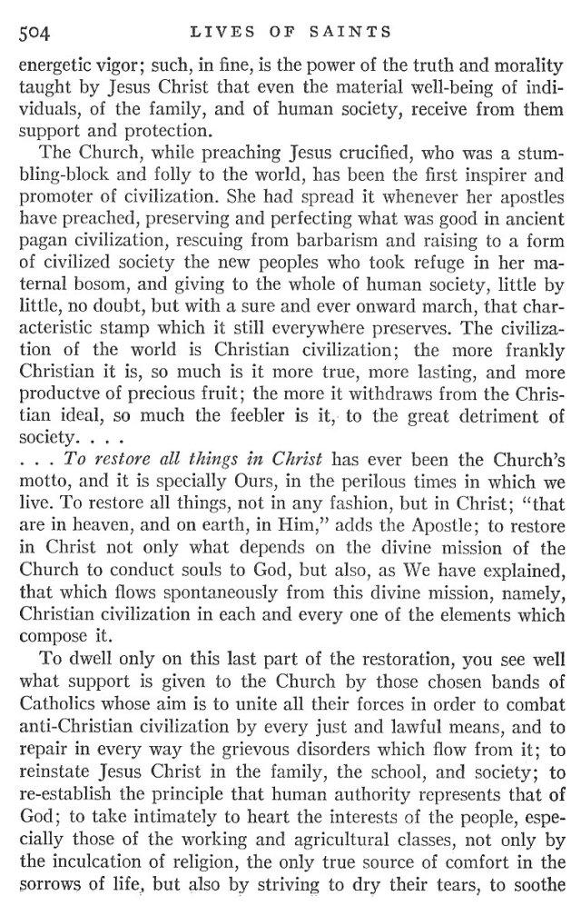 St. Pius X Life 8