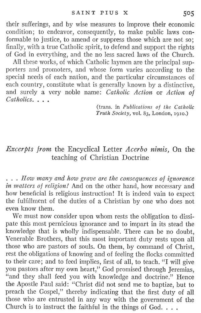 St. Pius X Life 9