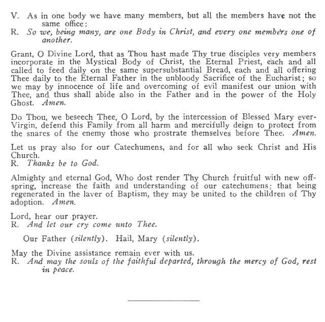 The Catholic Litanies I 7