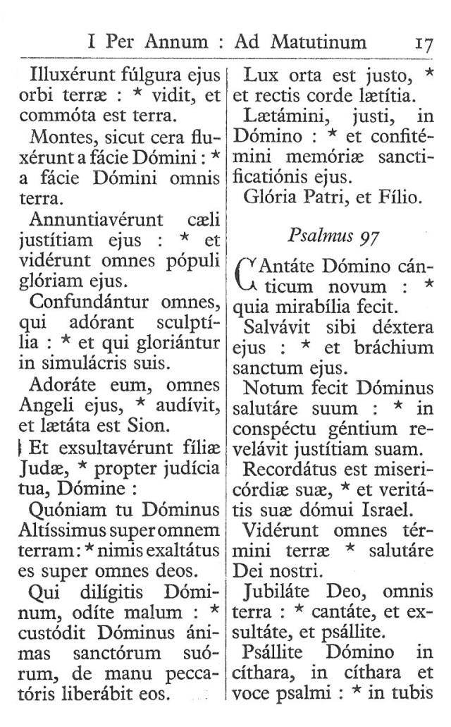 Officium Parvum B. Mariae Virg. 17