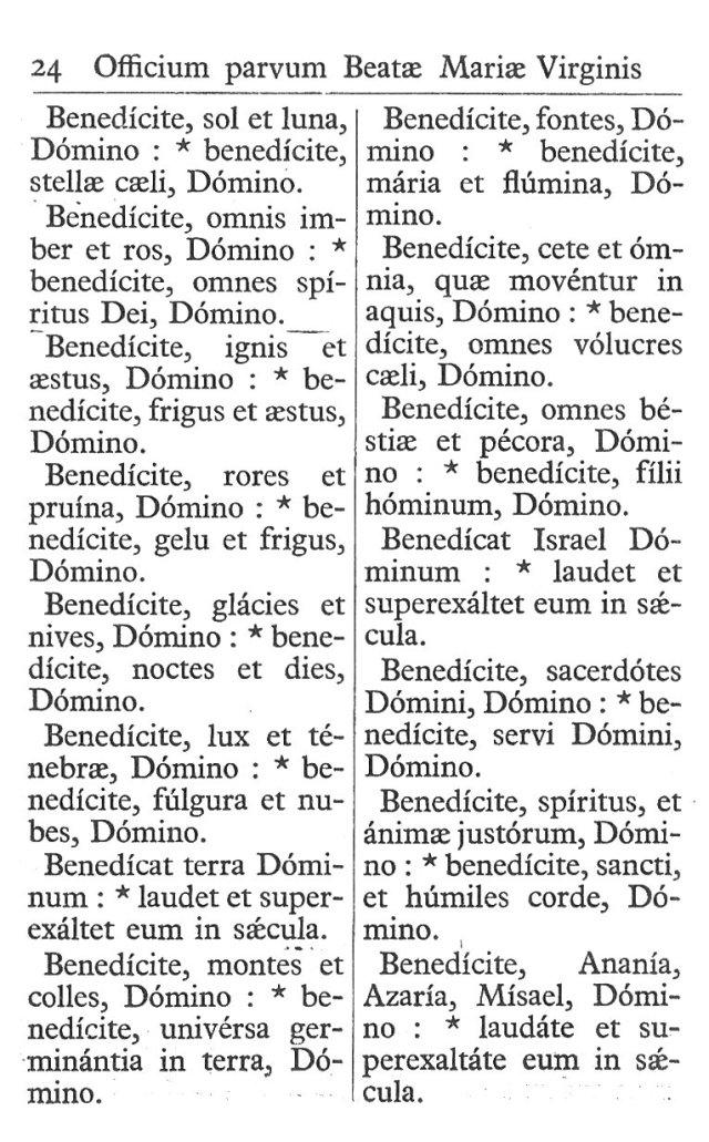Officium Parvum B. Mariae Virg. 24