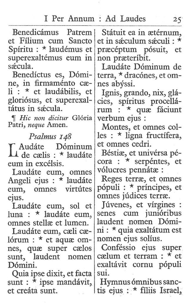 Officium Parvum B. Mariae Virg. 25