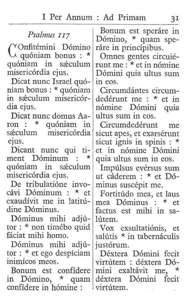 Officium Parvum B. Mariae Virg. 31
