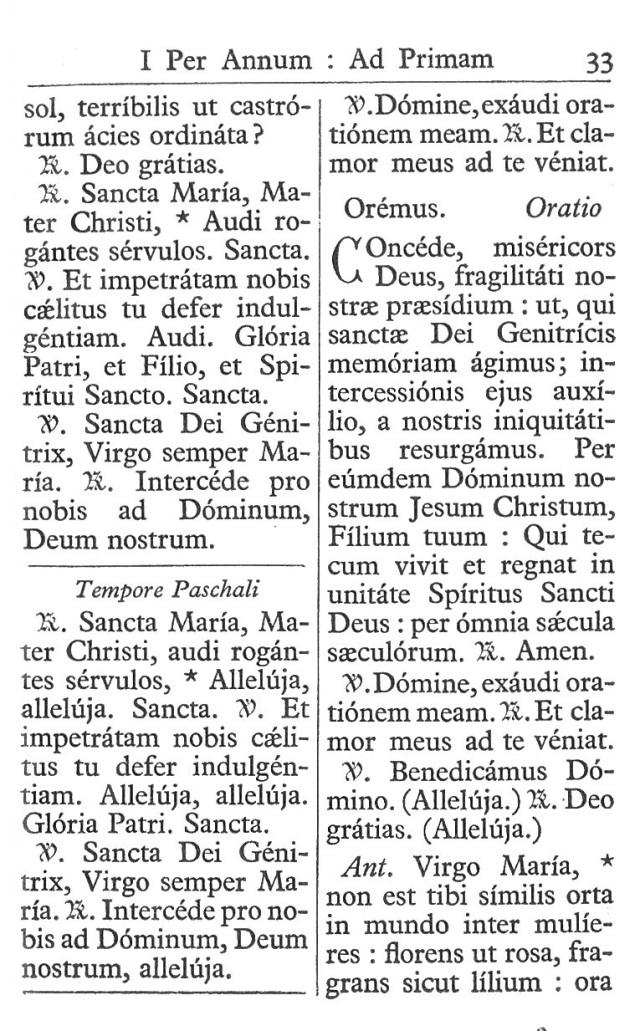 Officium Parvum B. Mariae Virg. 33