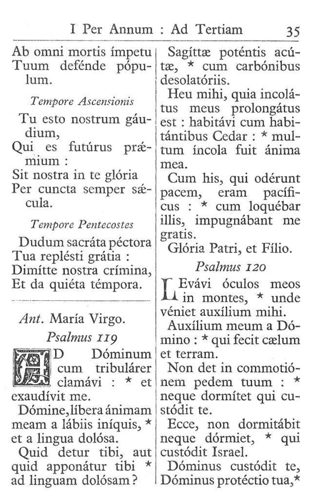 Officium Parvum B. Mariae Virg. 35