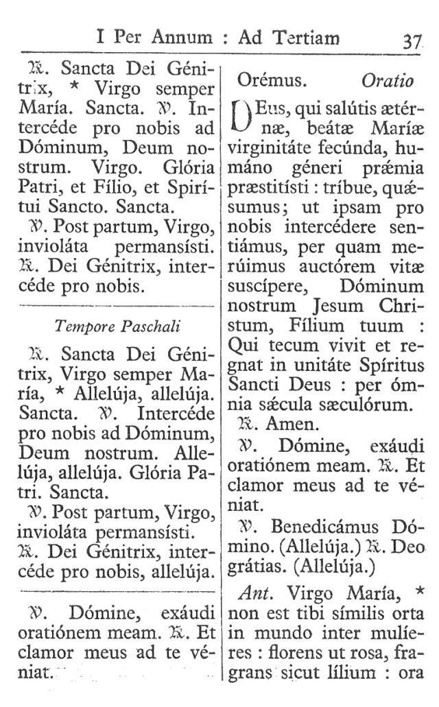 Officium Parvum B. Mariae Virg. 37