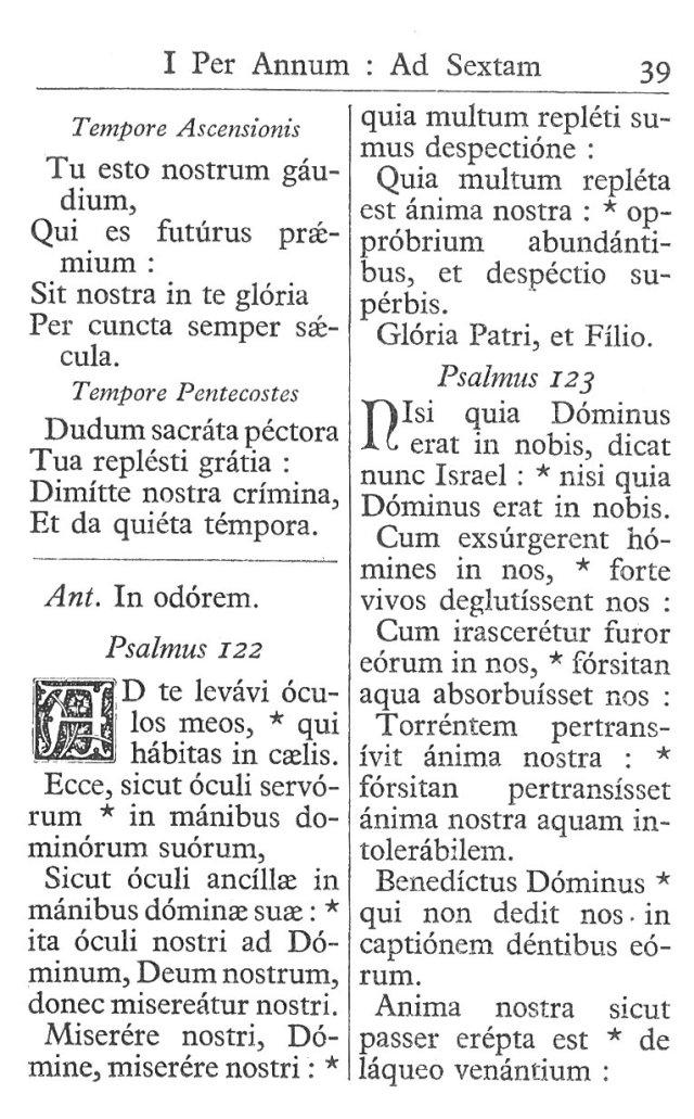 Officium Parvum B. Mariae Virg. 39
