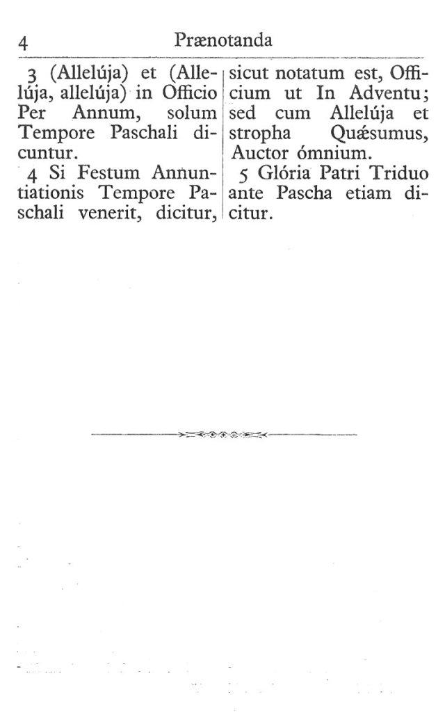Officium Parvum B. Mariae Virg. 4