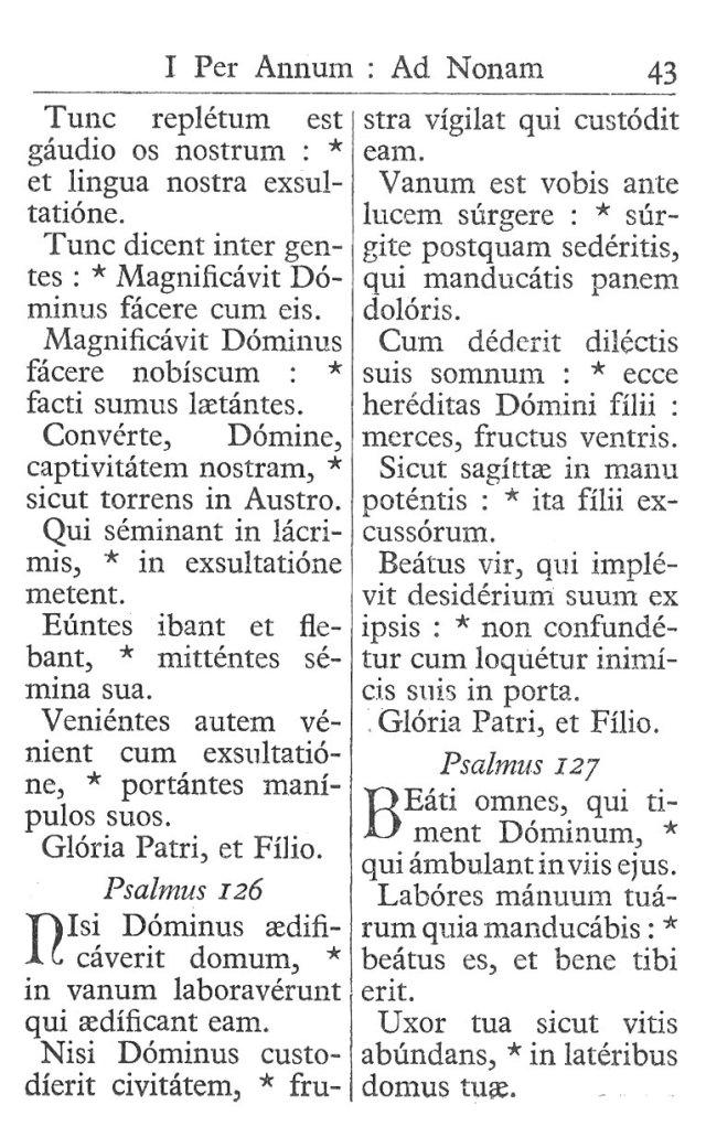 Officium Parvum B. Mariae Virg. 43