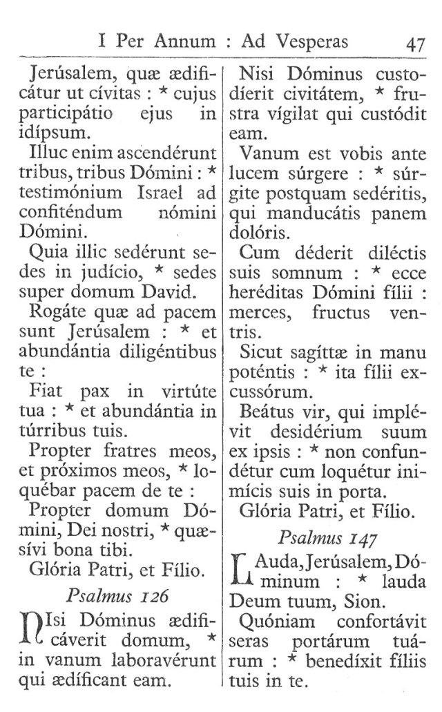 Officium Parvum B. Mariae Virg. 47