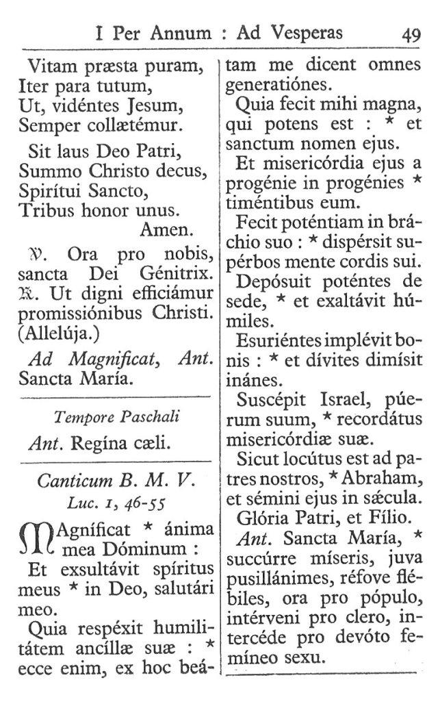 Officium Parvum B. Mariae Virg. 49