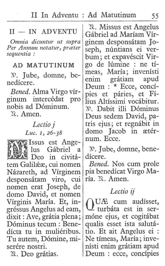 Officium Parvum B. Mariae Virg. 55