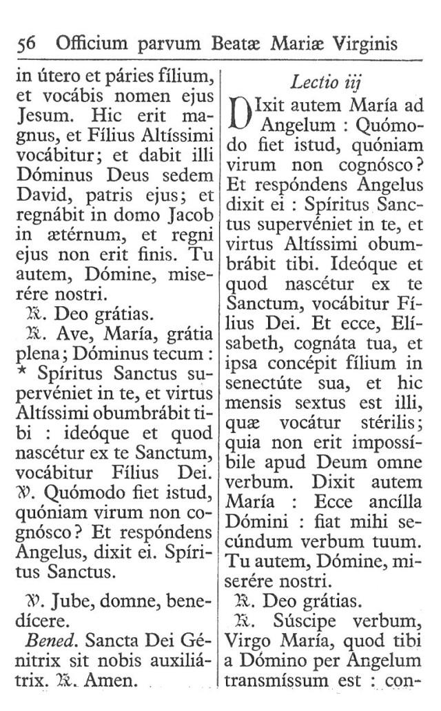 Officium Parvum B. Mariae Virg. 56