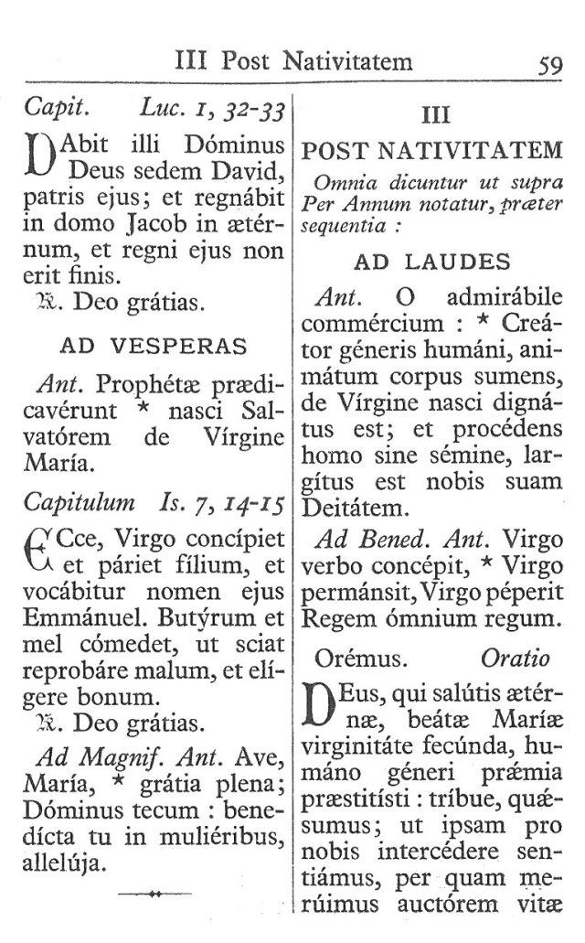 Officium Parvum B. Mariae Virg. 59