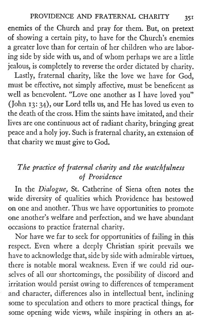 Providence and Fraternal Charity 11