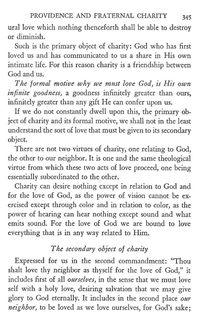 Providence and Fraternal Charity 5
