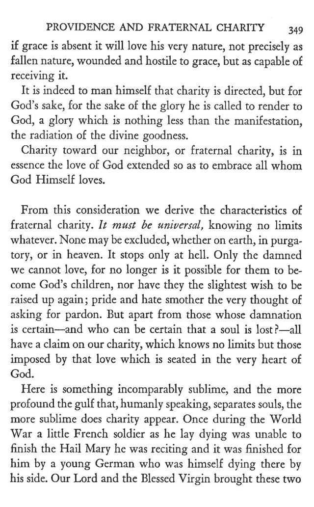 Providence and Fraternal Charity 9