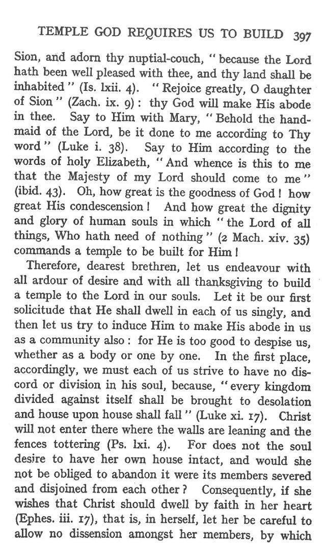 2nd Sermon for Dedication of Church 3