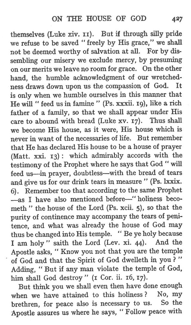 5th Sermon for Dedication of Church 12