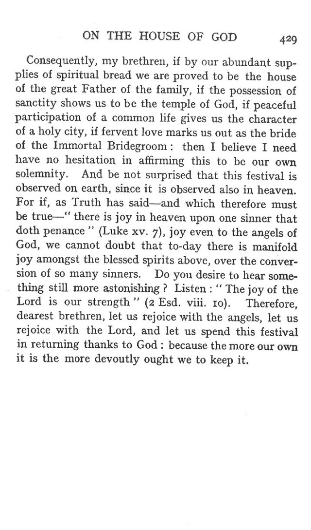 5th Sermon for Dedication of Church 14