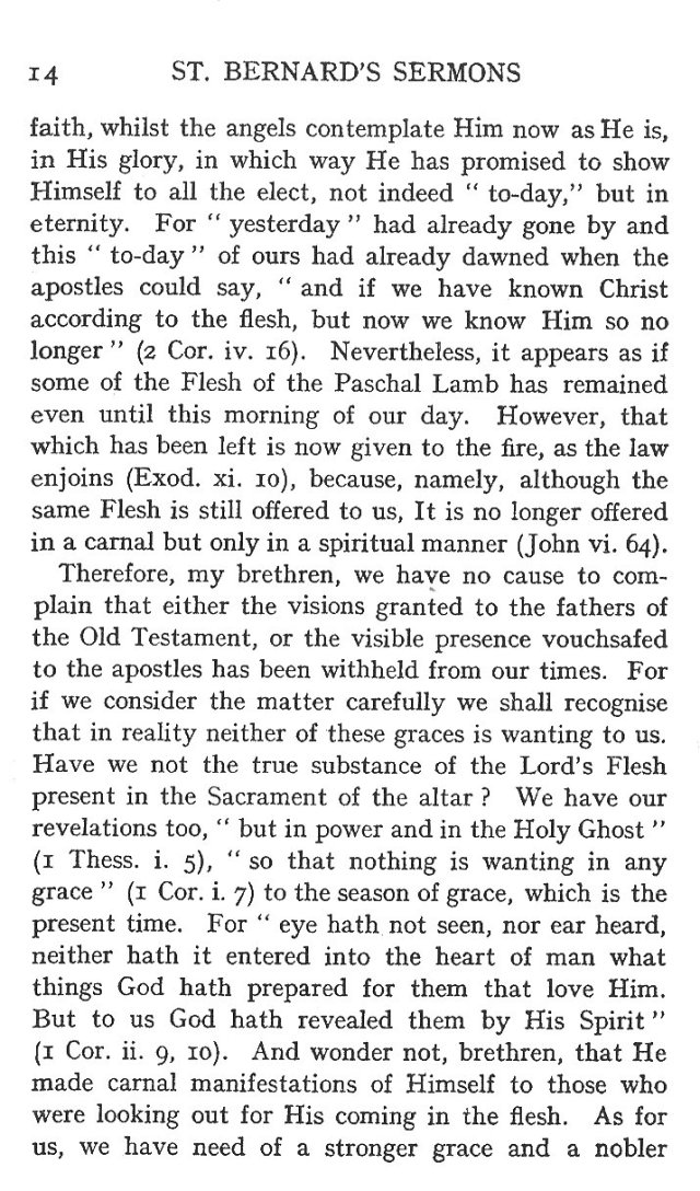 Sermon Feast St. Martin 14